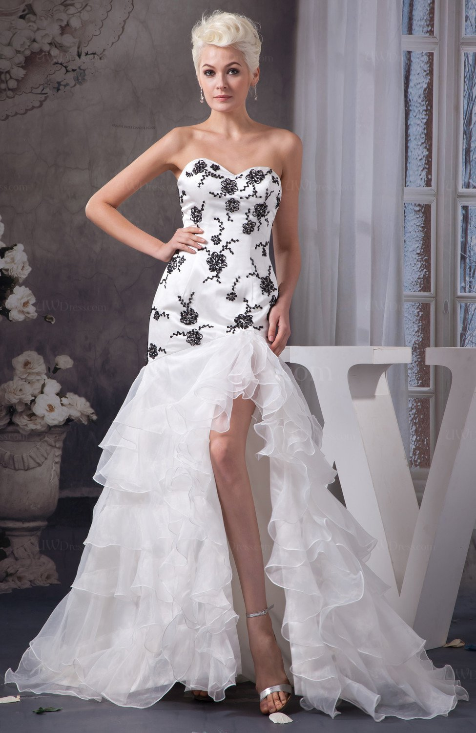 Allure Bridal Gowns Short Modern Winter Expensive Trumpet Amazing ...