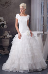 with Sleeves Bridal Gowns Spring Cinderella Fall Western Plus Size