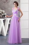 Unique Bridesmaid Dress Long Sheer Luxury Formal Floor Length Fall