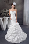 Mermaid Bridal Gowns Allure Sexy Unique Plus Size Sleeveless Modern