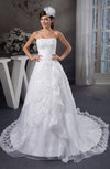 Lace Bridal Gowns Allure Plus Size Full Figure Glamorous Backless Mature