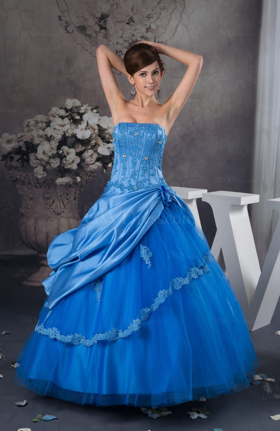 Ball Gown Bridal Gowns Fall Spring Elegant Western Unique ...