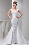 Allure Bridal Gowns Lace Amazing Modern Satin Western Summer Mature Fall