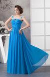 with Sleeves Bridesmaid Dress Chiffon Luxury Sheer Illusion Elegant Beaded