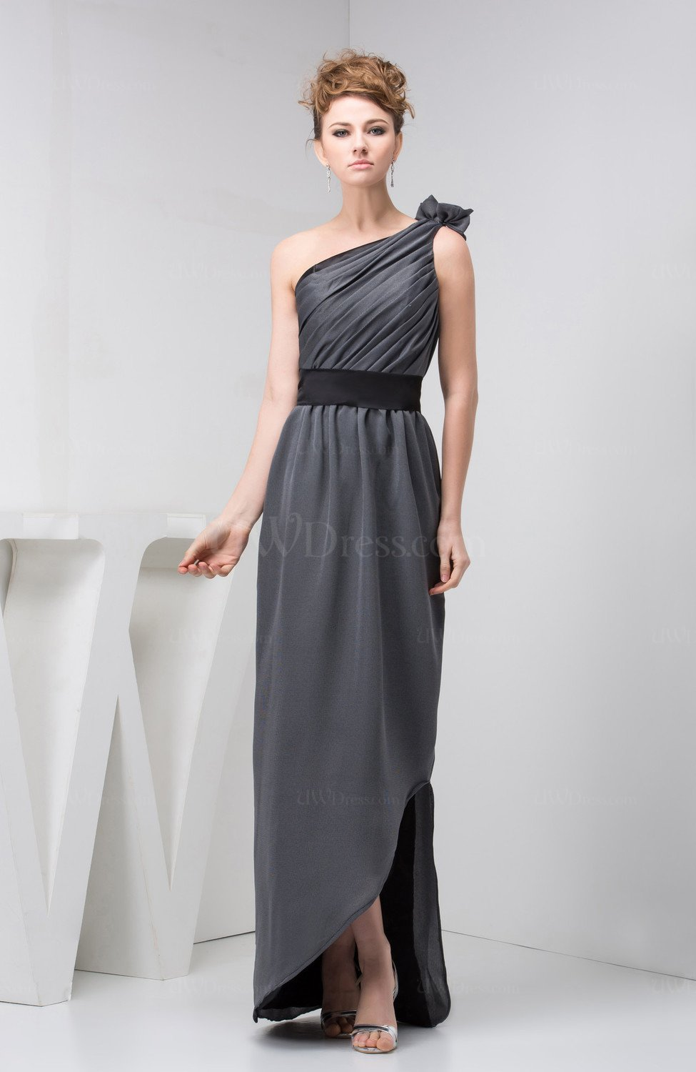 Affordable Evening Dress Petite Chic Low Back Semi Formal Summer ...