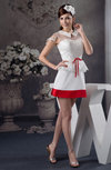 Lace Bridesmaid Dress with Sleeves Illusion Petite Pretty Casual Fashion