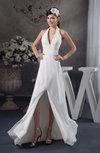 Chiffon Bridesmaid Dress Affordable Backless Summer Beaded Fashion Formal