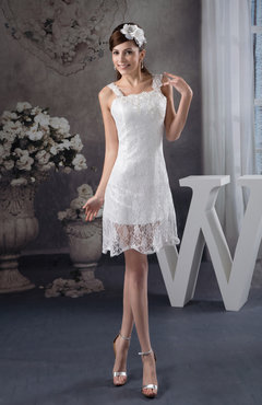 Lace Bridesmaid Dress Inexpensive Apple Tight Western Fall Simple Mini