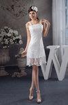 Lace Bridesmaid Dress Inexpensive Apple Tight Western Fall Simple Mini