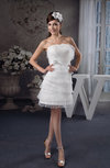 Affordable Bridesmaid Dress Inexpensive Fashion Open Back Strapless