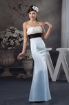 Long Bridesmaid Dress Unique Mermaid Autumn Low Back Sash Elegant Outdoor