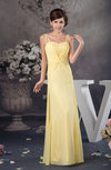 Chiffon Bridesmaid Dress Beach Floor Length Outdoor Classic Full Figure