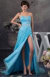 Inexpensive Sweet 16 Dress Sexy Luxury Split Front Full Figure Summer