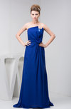 Chiffon Bridesmaid Dress Long Mature Classy Sparkly Plain Chic Strapless