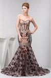 Formal Evening Dress Long Semi Formal Beaded Sweetheart Sparkly Full Figure