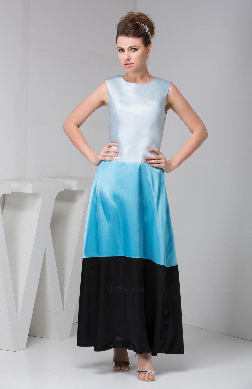 Casual Party Dress Long Ankle Length Bohemian Plain Plus ...