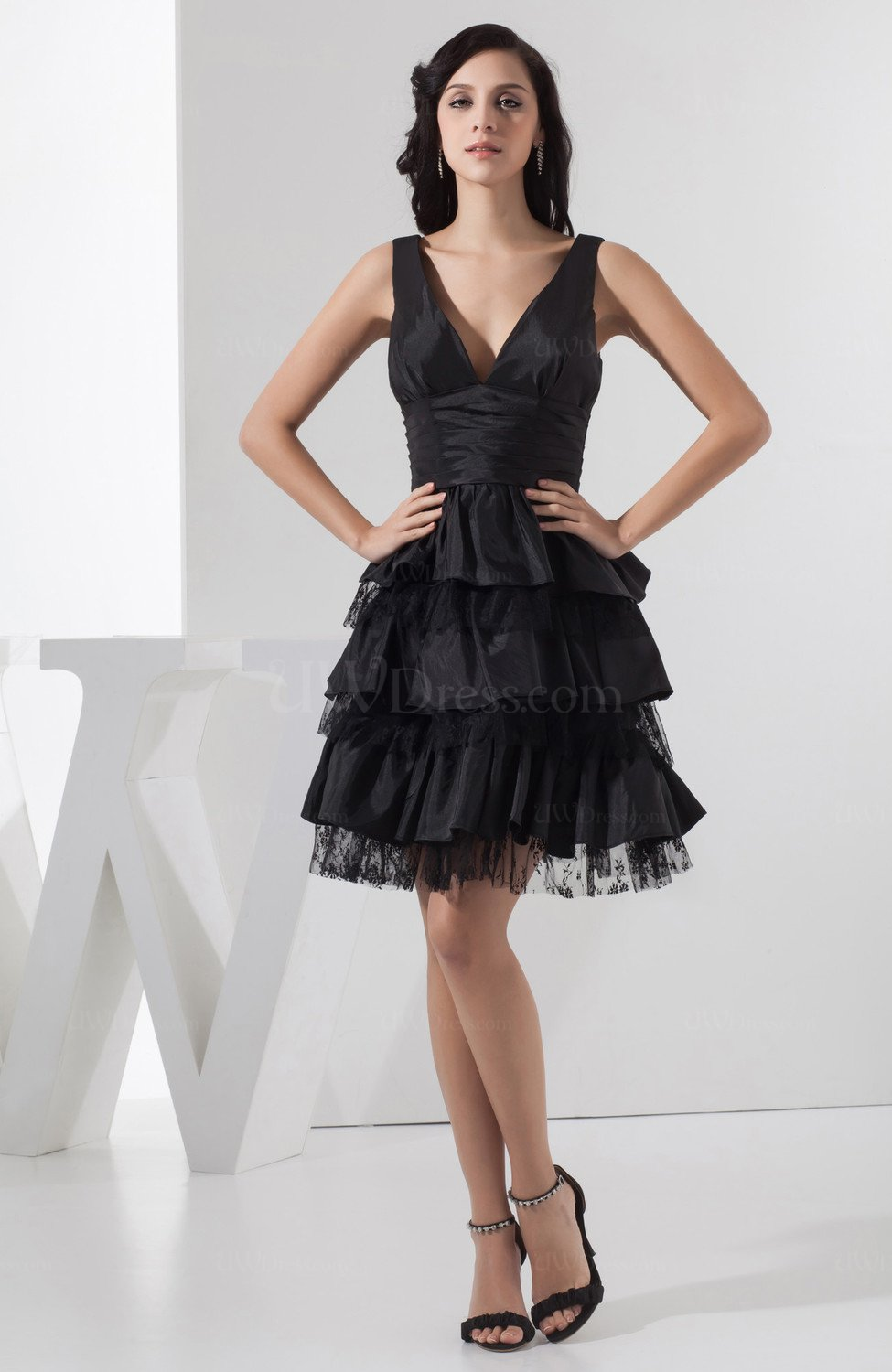 Black Inexpensive Sweet 16 Dress Affordable Dream Spring