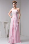 Chiffon Bridesmaid Dress Beach Sleeveless Modern Semi Formal Western
