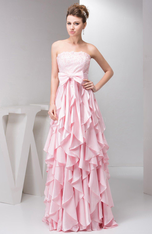 Blush Lace Evening Dress Formal Trendy A Line Plus Size