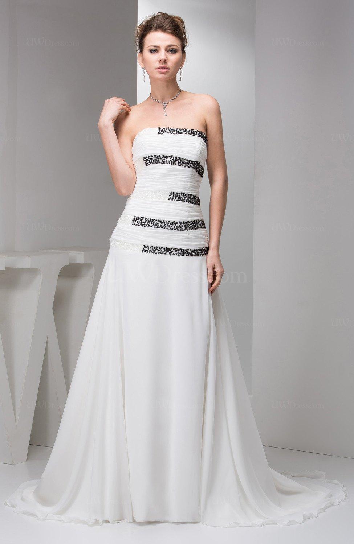 White Unique Prom Dress Long Plus Size Modern Chic Fashion