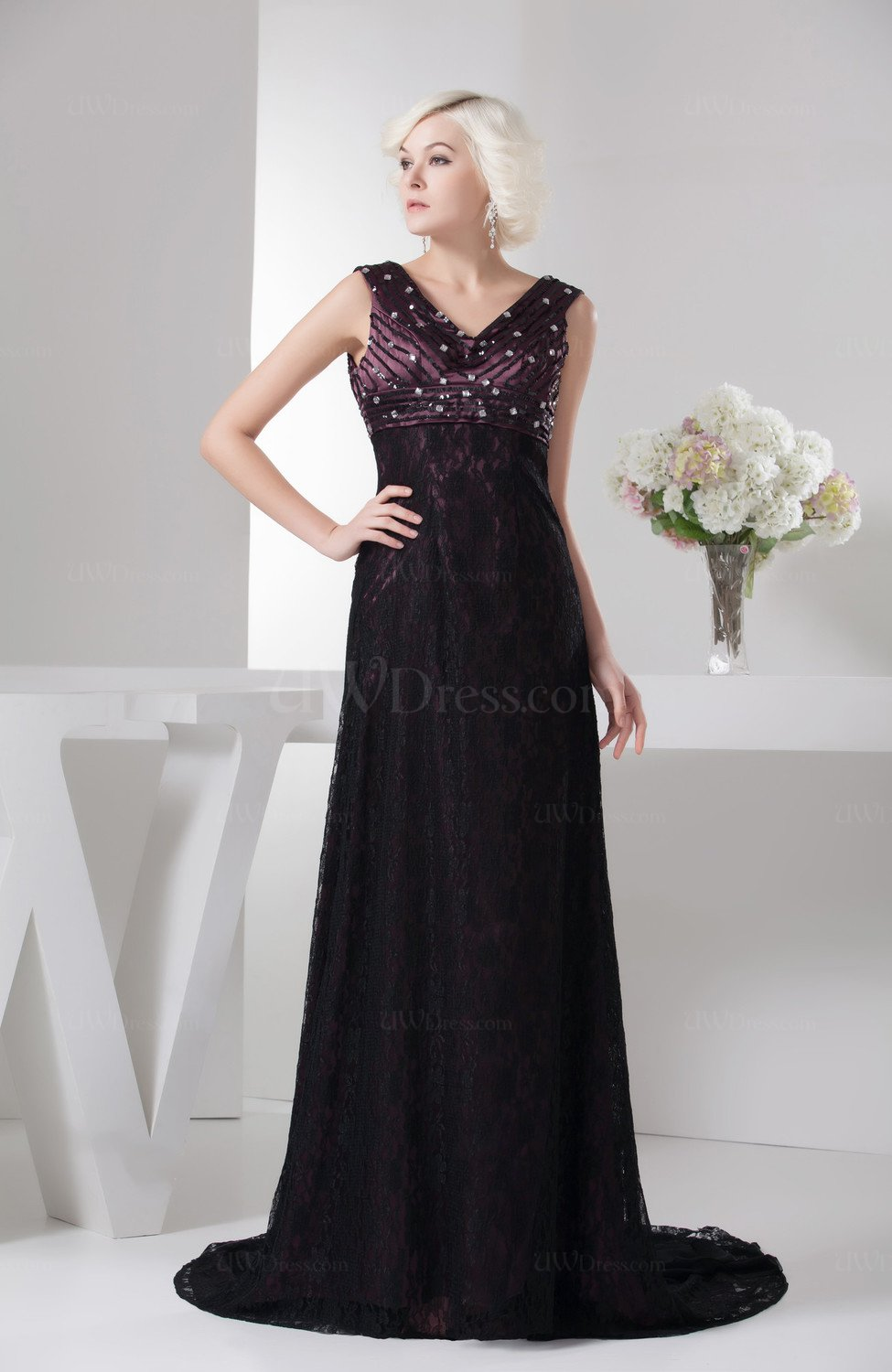 Wedding Guest Dresses Affordable : Lace wedding guest dress affordable empire spring dream