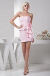 Inexpensive Homecoming Dress Unique Sheath Sleeveless Petite Strapless