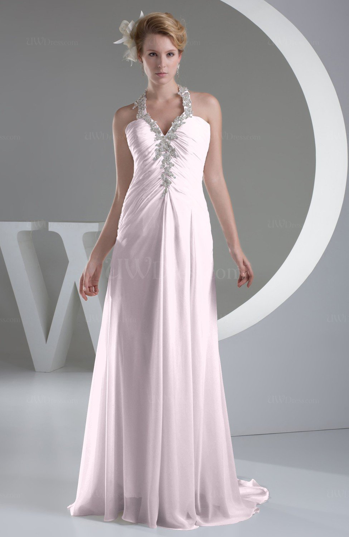 Blush Wedding Dress Petite : Home gt blush chiffon bridesmaid dress inexpensive traditional winter