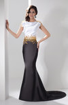 Mermaid Party Dress with Sleeves Luxury Bateau Tight Dream Gorgeous Fall