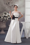 Lace Bridesmaid Dress with Sleeves Sheer Summer Chic Winter A line Garden