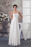 Chiffon Bridesmaid Dress Inexpensive Spring Natural Sleeveless Trendy