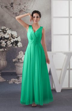 Sea Green Chiffon Bridesmaid Dress Affordable Y Western Allure Sleeveless Amazing