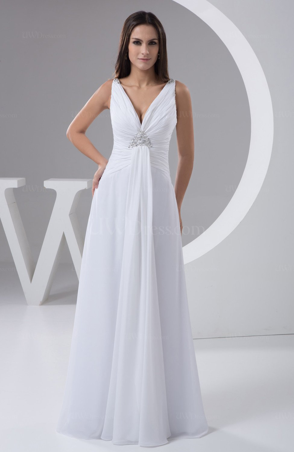 White Allure Bridal Gowns Beach Sexy Winter for Less ...