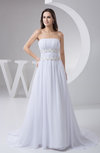 Inexpensive Bridal Gowns Chiffon Beaded Cinderella Fall Country Unique