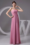 Chiffon Bridesmaid Dress Affordable Formal Low Back Casual Autumn Outdoor