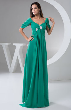 with Sleeves Bridesmaid Dress Chiffon Open Back Summer Backless Autumn