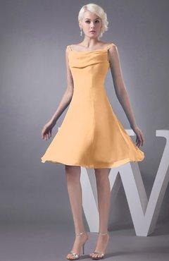Buff Chiffon Dress