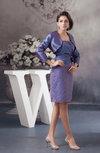Country Bridesmaid Dress Short Modern Allure Sheath Fall Casual Taffeta