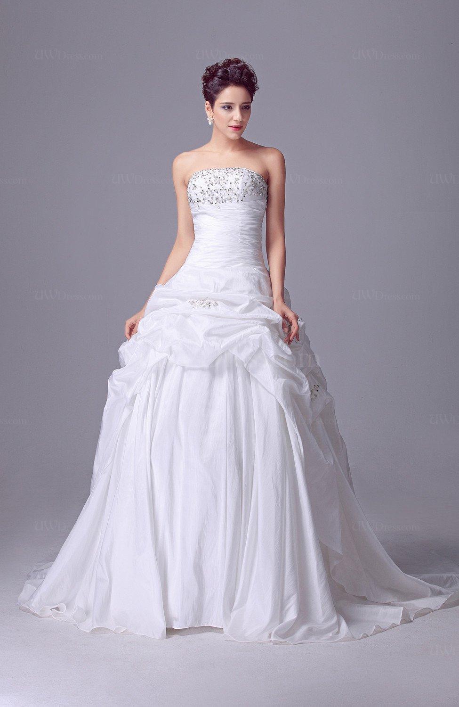 Disney Princess Bridal Gowns Beaded Sleeveless Spring