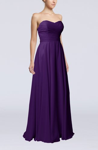 Plain Sheath Sweetheart Sleeveless Backless Evening Dresses