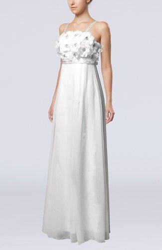 Fairytale Destination Empire Sleeveless Zip up Flower Bridal Gowns