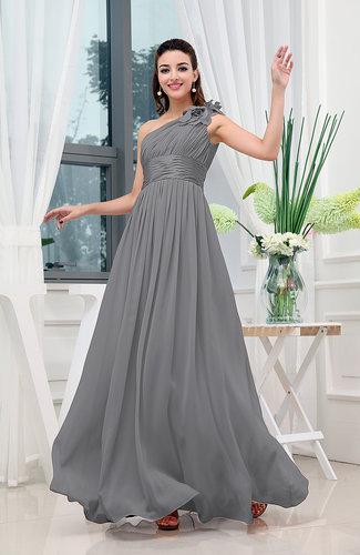 Charcoal Grey Bridesmaid Dresses - UWDress.com