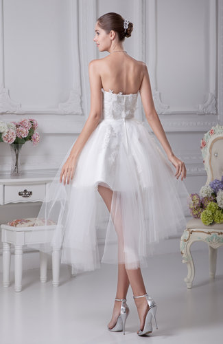 Cute beach baby doll sweetheart sleeveless zip up bridal for Baby doll wedding dress bridal gown