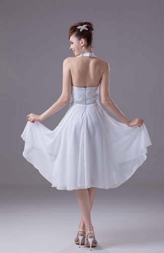 White Tea Party Dress