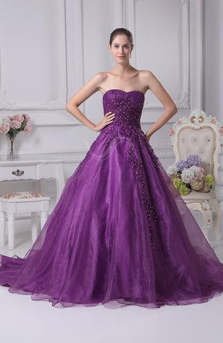 Elegant Church Princess Sleeveless Lace up Rhinestone Bridal Gowns