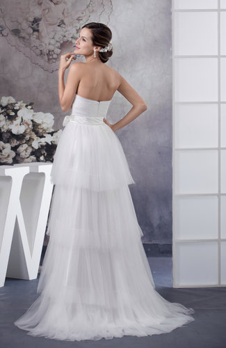 Inexpensive Bridal Gowns Plus Size Sleeveless Elegant