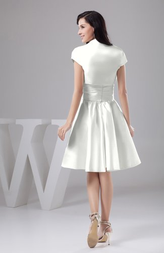 Ivory Inexpensive Bridesmaid Dress Affordable A Line Plus Size