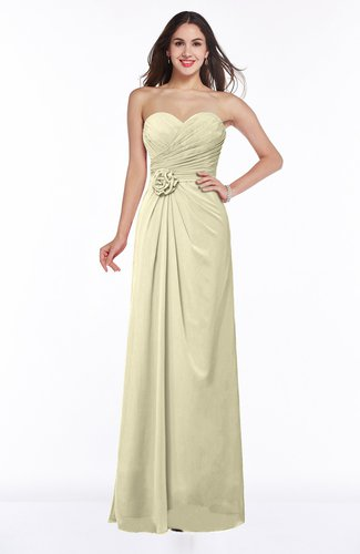 Modern A-line Sweetheart Chiffon Floor Length Plus Size Bridesmaid Dresses