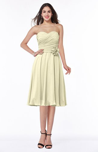 Modern A-line Sleeveless Zip up Tea Length Plus Size Bridesmaid Dresses
