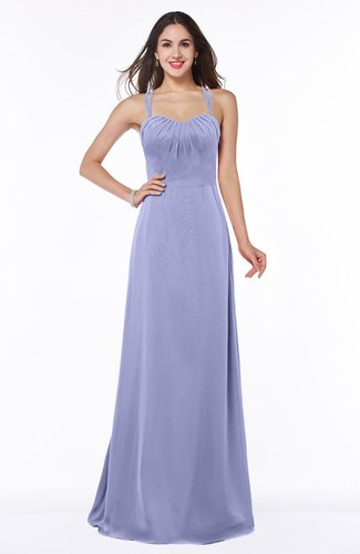 Mature A-line Sweetheart Sleeveless Chiffon Floor Length Plus Size Bridesmaid Dresses