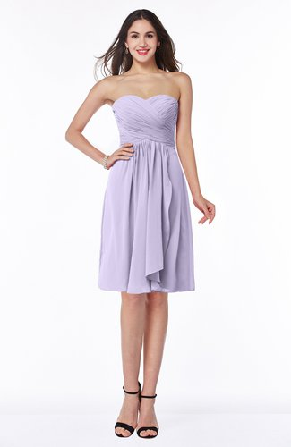Glamorous A-line Sweetheart Sleeveless Zipper Knee Length Plus Size Bridesmaid Dresses